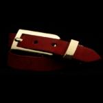 Arden Cuff Leather Yellow Snakeskin – Red Bright Calfskin