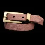 Arden Cuff Leather Yellow Snakeskin – Baby Pink Calfskin