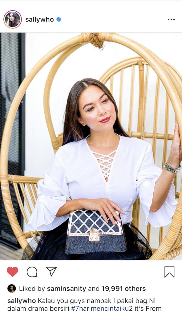 CSHEON Bag Siti Saleha 7 Hari Mencintai Ku