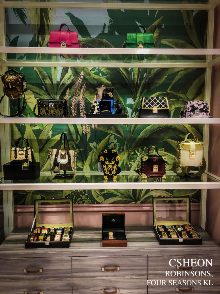CSHEON Leather Bags Robinsons Malaysia Shoppes