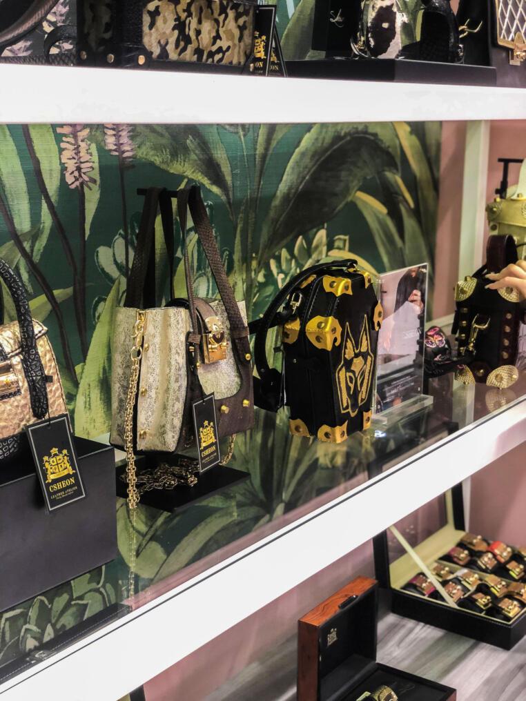 Leather Bags by CSHEON in Robinsons Kuala Lumpur