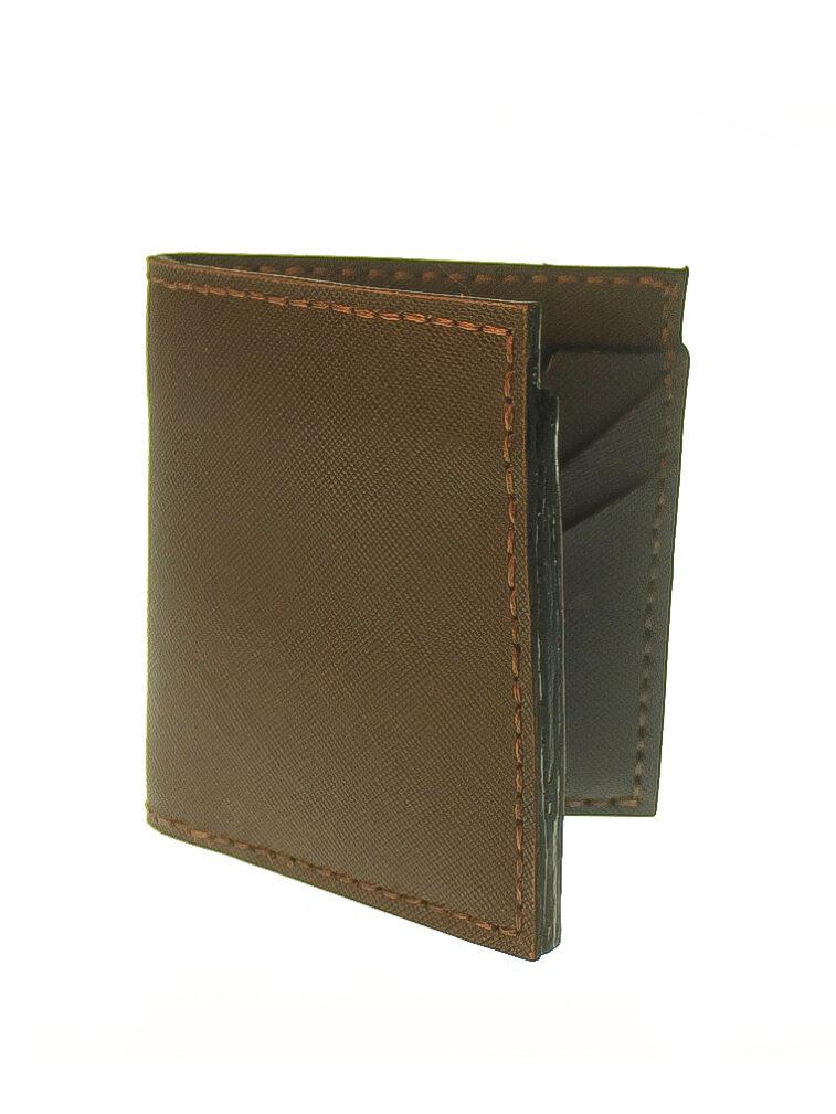wallet short staircase saffiano 2